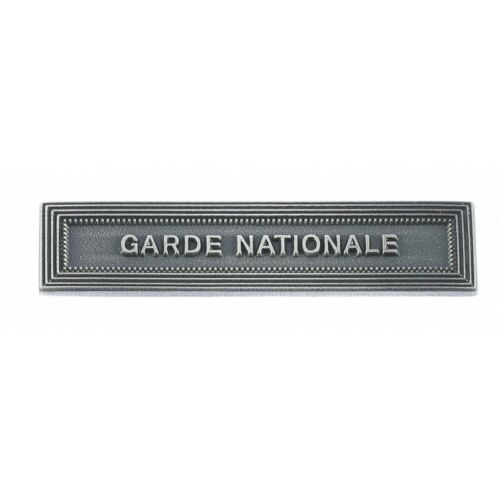 Agrafe GARDE NATIONALE MEDAILLE RESERVISTES VOLONTAIRES ET SECURITE INTERIEURE