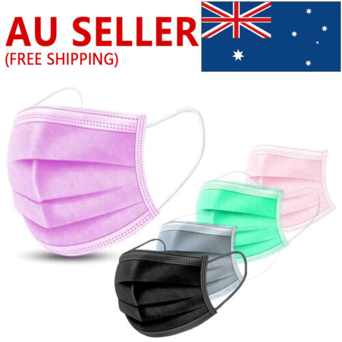 50PCS Face Mask High Protective 3 Layer Mouth Masks Disposable mask Surgical A
