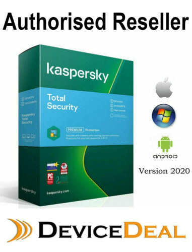 Kaspersky Total Security  1 year single user License Key 2020