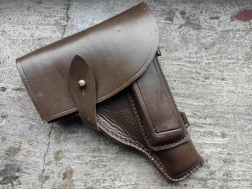 Russian Soviet USSR Makarov PM leather gun holsterOther Militaria - 135