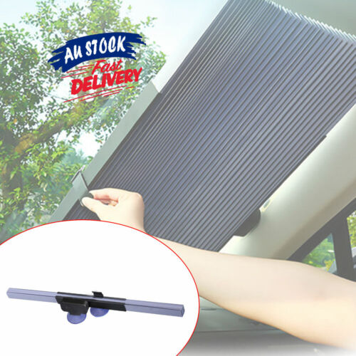 Sun Shade Visor Car Block Front Window Retractable Windshield Folding Cover