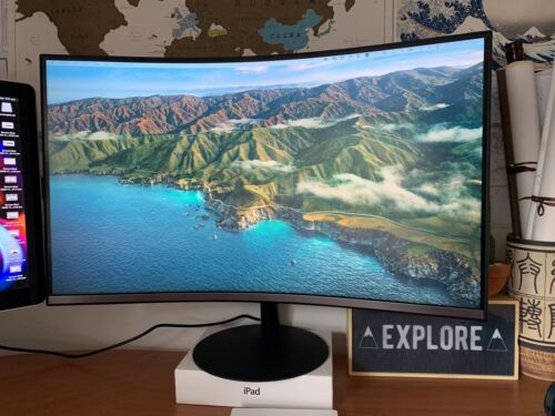 32 amsung curved monitor