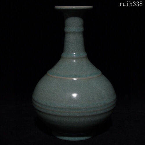 collection China antique Song dynasty Spiral pattern big belly bottle