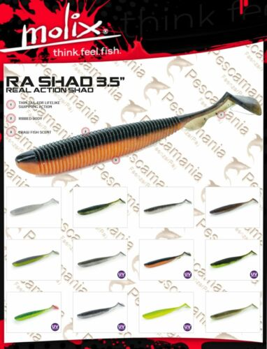 Artificiale spinning Molix Ra Shad 3.5