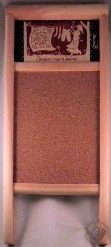 """18"""" Decorative Cork-Board Cleanliness is Next to Godliness Columbus WashboardCo"""