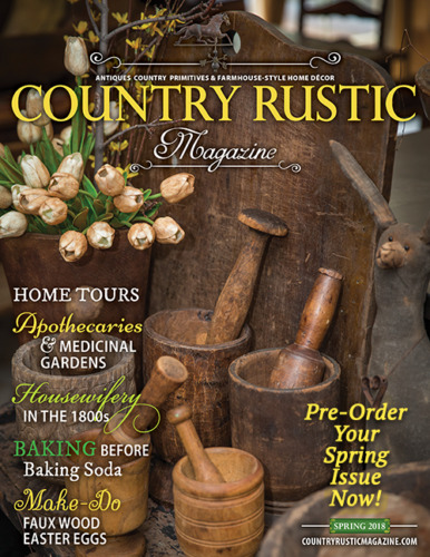 Country Rustic Magazine-LOT-8 Magazines 2018-2019~Country Primitive Home Decor
