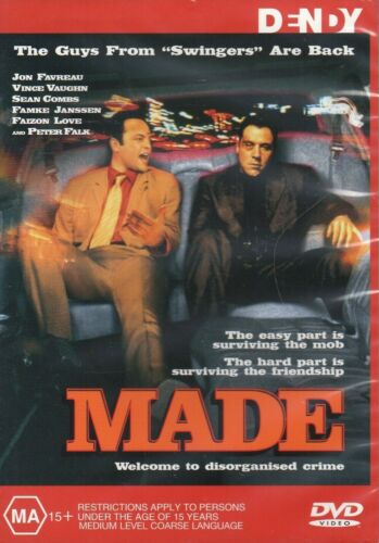 Made (DVD, 2010, R:4) Used Very Good Condition