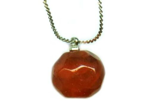 Genuine Ancient Pendant Roman Handcrafted Carnelian Bead Gemstone Necklace