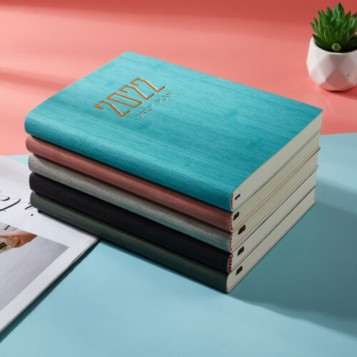 2021 A5 Weekly Diary Compendium Organiser Planner Journal Portfolio PU Leather