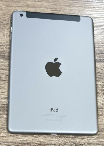 Apple iPad mini 1st Gen. 16GB, Wi-Fi + Cellular (Unlocked), 7.9in - Black & Sla…