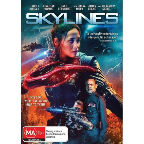 SKYLINES DVD, NEW & SEALED ** NEW RELEASE ** 130121, FREE POST