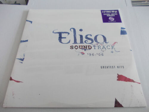 ELISA SOUNDTRACK 2LP ORIGINALE SIGILLATO LIMITATO VINILE NERO