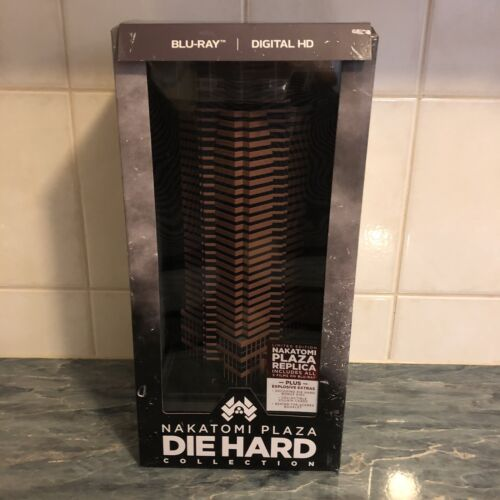 Die Hard - Nakatomi Plaza Limited Edition Blu ray Collection (VERY RARE/OOP)