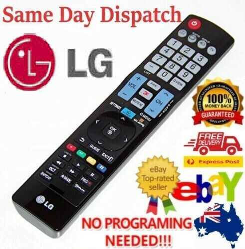 Genuine LG TV Remote Control AKB73615362 For 3D HDTV LED LCD TV  2000-2020 Years <br/> Same Day Dispatch - Free Tracking - AU STOCK