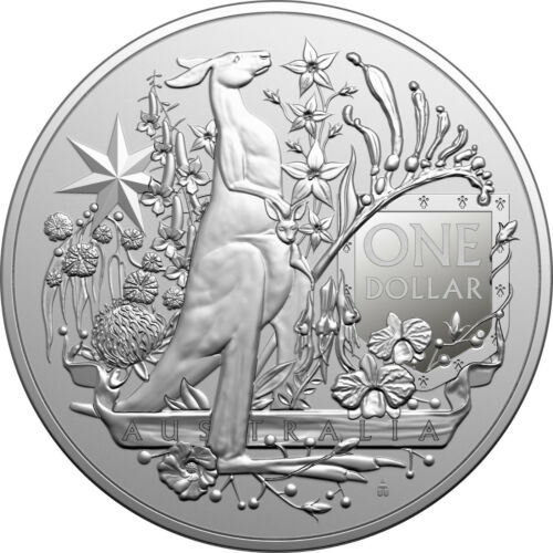 2021 Royal Australian Mint - Coat of Arms - 1oz Silver Investment Coin
