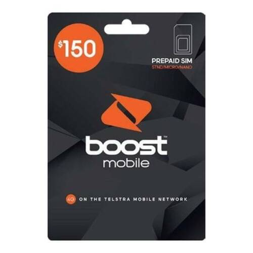 Boost Mobile $150 Sim Starter Pack
