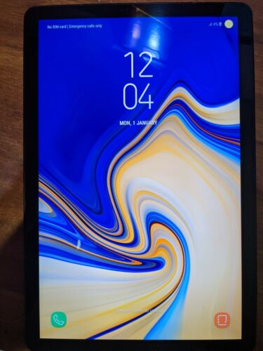 Samsung Galaxy Tab S4 64GB, Wi-Fi + Cellular (Unlocked), 10.5 in - Black