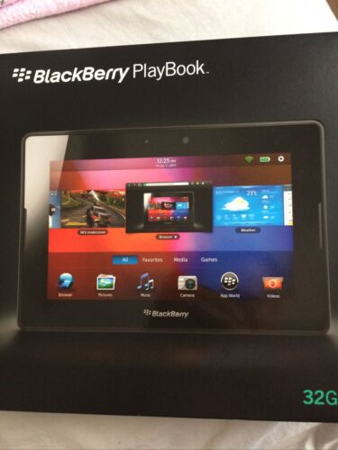 BlackBerry PlayBook 32GB, Wi-Fi, 7in - Black Tablet Perfect Condition