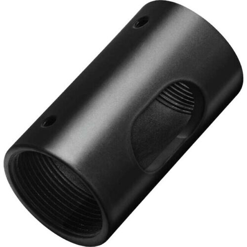 Omnimount PFC-A -B Female Pipe Adaptor for PM Series Extension Pipes Black
