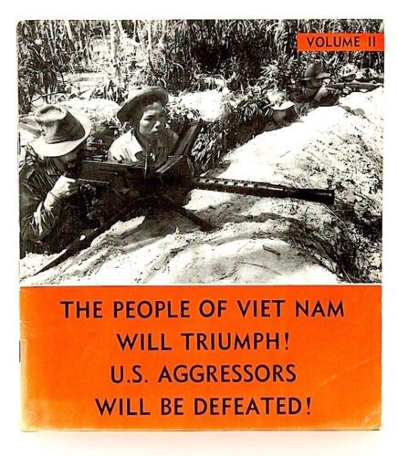 VINTAGE Vietnam War Communist Propaganda Viet Cong Anti American War Photos Books - 104014