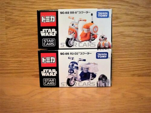 New ! TAKARA TOMY STAR WARS METACOLLE 2 Scooters Set Valuable !