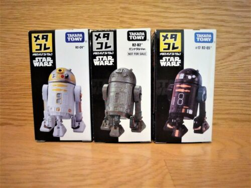 New ! TAKARA TOMY STAR WARS METACOLLE R2 Trio Set Steal & Valuable !