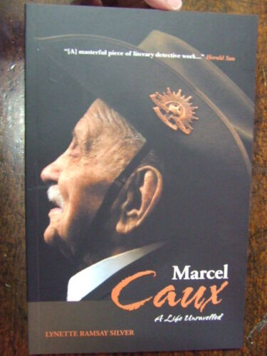 Marcel Caux: A Life Unravelled 20th Battalion AIF 3time wounded1914 - 1918 (WWI) - 13962