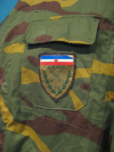 SERBIA REPUBLIKA SRPSKA BALKAN WAR CAMOUFLAGE TUNIC UNIFORMOriginal Period Items - 156451