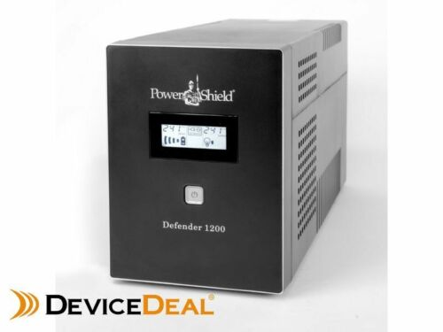 PowerShield Defender 1200VA / 720W Line Interactive UPS with AVR, Australian Out