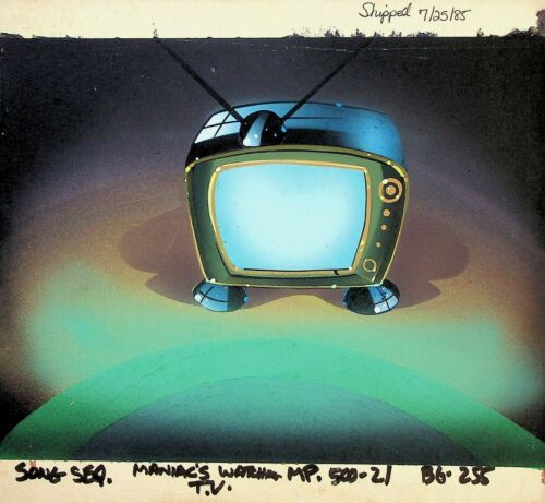 Muppet Babies 1985 PRODUCTION BACKGROUND PAINTING #RB