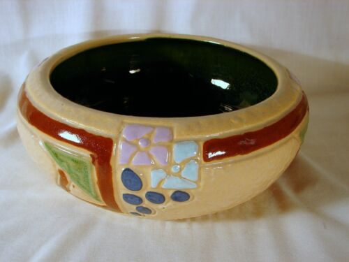 Early Roseville Mostique 9in Bowl, Excellent Condition, ca. 1915