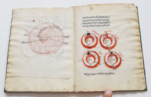 ANTIQUE ARABIC ISLAMIC ASTRONOMICAL TREATISE SHARH AL-JAGHMINI SIGNED AND DATED
