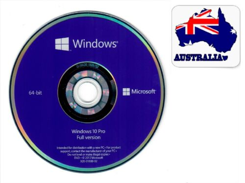 System Recovery Software Disc's - 2021   64 Bit S   -NEW