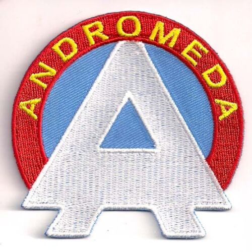 """Space:1999 Andromeda """"A"""" Logo  3"""" Wide Uniform Patch-USA Mailed  (SPPA-1912)"""
