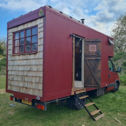 Unique Campervan, Iveco Daily Luton 3.5t, Full year MOT, Off Grid Tiny Home
