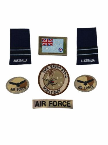 (ADF) Military- RAAF PATCH & INSIGNIA LOTModern, Current - 36066