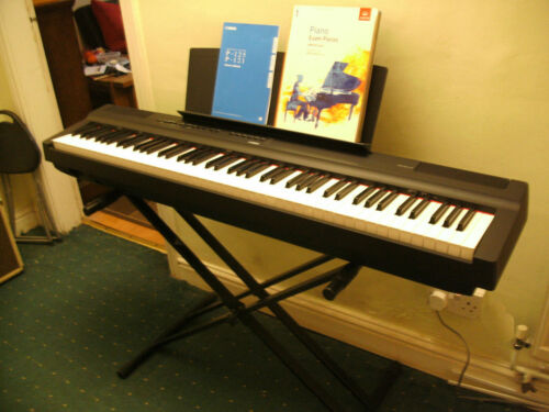 Yamaha P125 88-Key Weighted Action Digital Piano with Stand