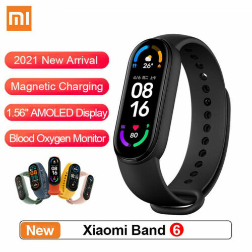 """Xiaomi Mi Band 6 Large 1.56"""" AMOLED USA Version! English Spanish Language Pack <br/> ✅USA Stock ✅Official Reseller ✅Ships Today, Ships FREE"""