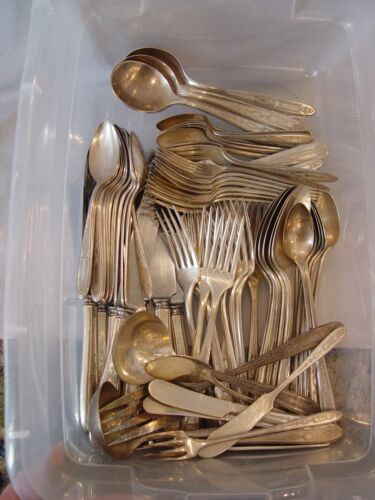 80 Pieces Vintage Community Plate Flatware With Serving Pieces Great Pattern