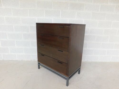 "Crate & Barrel Mid Century Modern Style Chest ""A"""