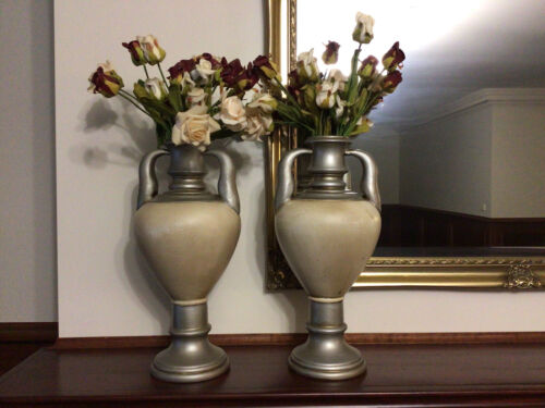 Large Antique Style Vases