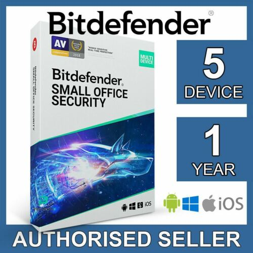Bitdefender Small Office Security 2021 5 Device 1 Year Business Activation Code