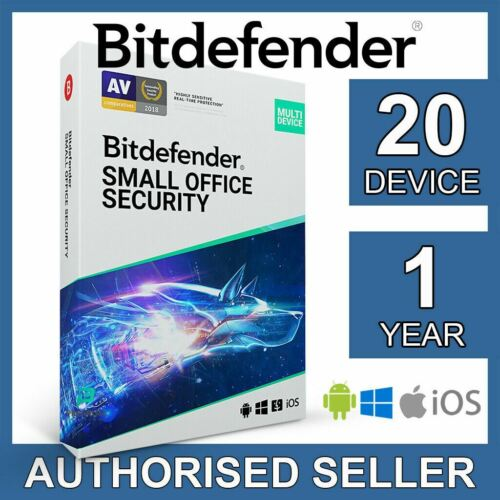 Bitdefender Small Office Security 2021 20 Device 1 Year Business Activation Code