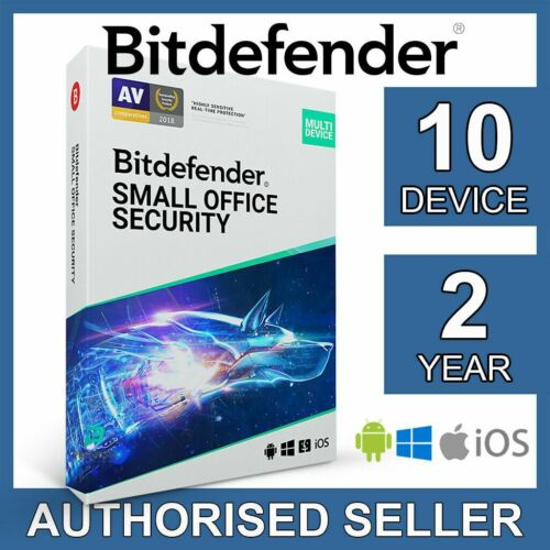 Bitdefender Small Office Security 2021 10 Device 2 Year Business Activation Code