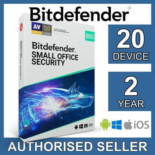 Bitdefender Small Office Security 2021 20 Device 2 Year Business Activation Code