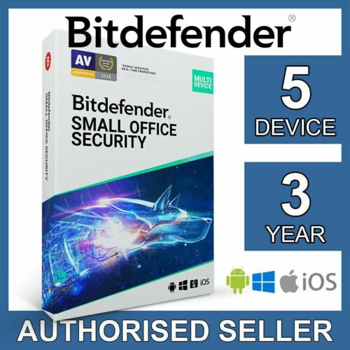 Bitdefender Small Office Security 2021 5 Device 3 Year Business Activation Code