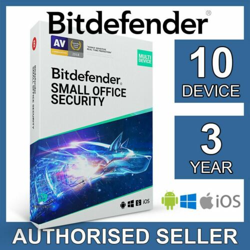 Bitdefender Small Office Security 2021 10 Device 3 Year Business Activation Code