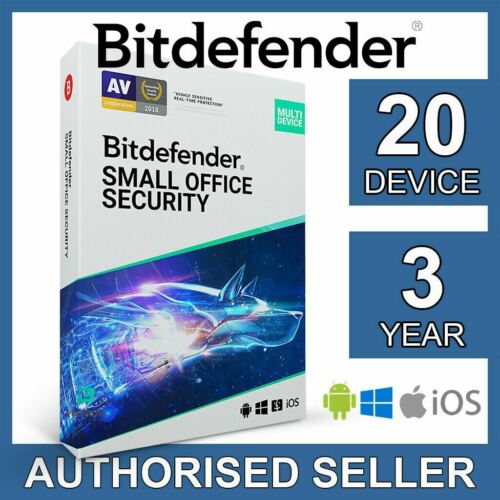 Bitdefender Small Office Security 2021 20 Device 3 Year Business Activation Code