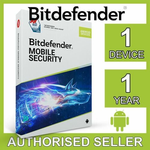 Bitdefender Mobile Security 2021 1 Device 1 Year for ANDROID Activation Code VPN