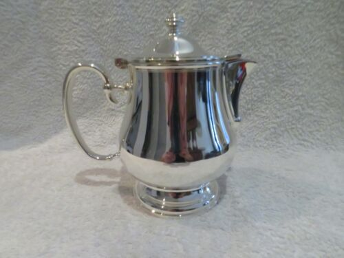 Gorgeous French silver-plated Christofle Hotel teapot Albi ? 75cl